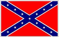 Rebel Flag Decal / Sticker 07