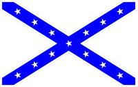 Rebel / Confederate Flag Decal / Sticker 36