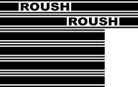 Roush Racing Truck Stripe Decal / Sticker 06