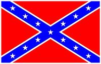 Rebel / Confederate Flag Decal / Sticker 60