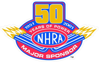 NHRA  Decal / Sticker 06