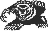 Bear Decal / Sticker 03