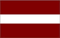 Latvia Flag Decal / Sticker 01