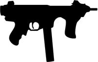 Beretta Model 12 Gun Decal / Sticker