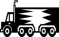 Truck Decal / Sticker 08