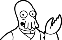 Zoidberg Decal / Sticker 05