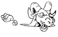 Rams Mascot Decal / Sticker