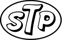 STP Decal / Sticker 04