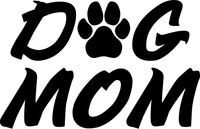 Dog Mom Decal / Sticker 02