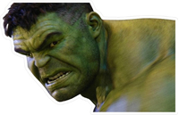 Hulk Decal / Sticker 12