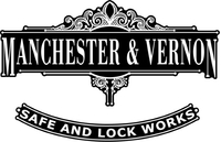 Macnhester & Vernon Safe and Lock Works Decal / Sticker 01