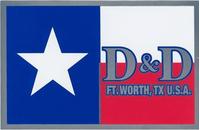 D&D Exhaust Decal / Sticker 01