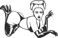 Sexy Girl Decal / Sticker 05