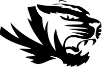 Tiger Mascot Decal / Sticker