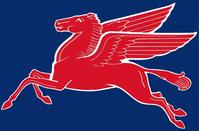 MobilGas Pegasus Decal / Sticker 12