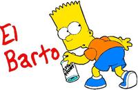 El Barto Decal / Sticker