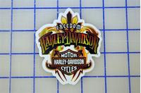 Harley-Davidson Decal / Sticker 1202