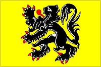 Flanders Flag Decal / Sticker