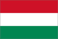 Hungary Flag Decal / Sticker