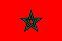 Morrocan Flag Decal / Sticker