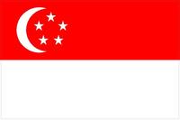 Singapore Flag Decal / Sticker