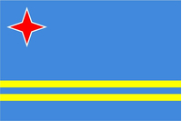 Aruba Flag Decal / Sticker
