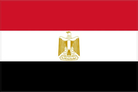 Egypt Flag Decal / Sticker