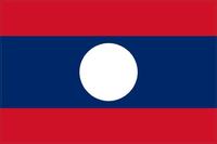 Laos Flag Decal / Sticker