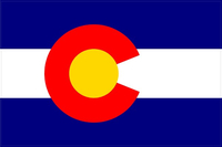 Colorado Flag Decal / Sticker