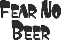 Fear No Beer Decal / Sticker