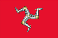 Isle of Man Flag Decal / Sticker 13