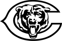 Bears Mascot Decal / Sticker 01