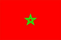 Morocco Flag Decal / Sticker 01