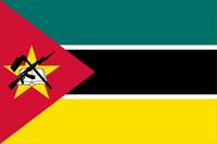 Mozambique Flag Decal / Sticker 01