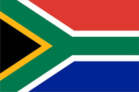 South Africa Flag Decal / Sticker 01