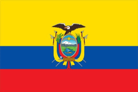 Ecuador Flag Decal / Sticker 01