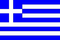 Greece Flag Decal / Sticker