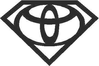 Super Toyota Decal / Sticker