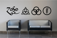 BAND WALL DECALS and BAND STICKERS
