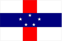 Netherlands Antilles Flag Decal / Sticker