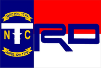 North Carolina Flag Toyota TRD Decal / Sticker 15