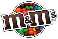 M&M Decal / Sticker 25
