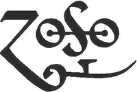 Led Zeppelin Zoso Decal / Sticker 02