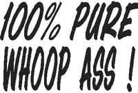 100% Pure Woop Ass Decal / Sticker