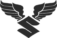 Suzuki Wings Decal / Sticker