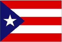 Puerto Rico Flag Decal / Sticker 01