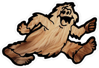 Bigfoot RV Decal / Sticker 02
