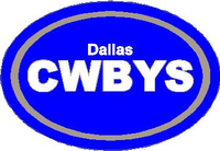 Dallas Cowboys Oval Decal / Sticker