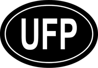 UFP Oval Star Trek Decal / Sticker 02