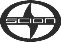 Scion Logo Decal / Sticker 01